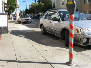 another madcap parking designation in Glen Park.