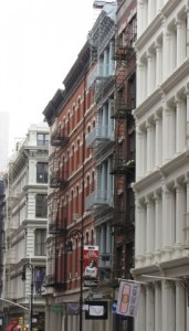 Quintessential Soho architecture